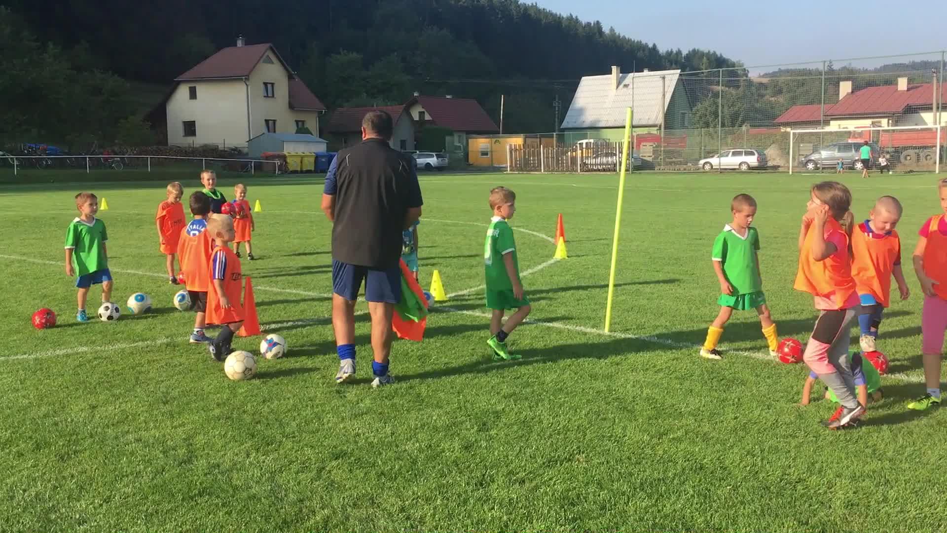 Fotbalový trénink přípravky