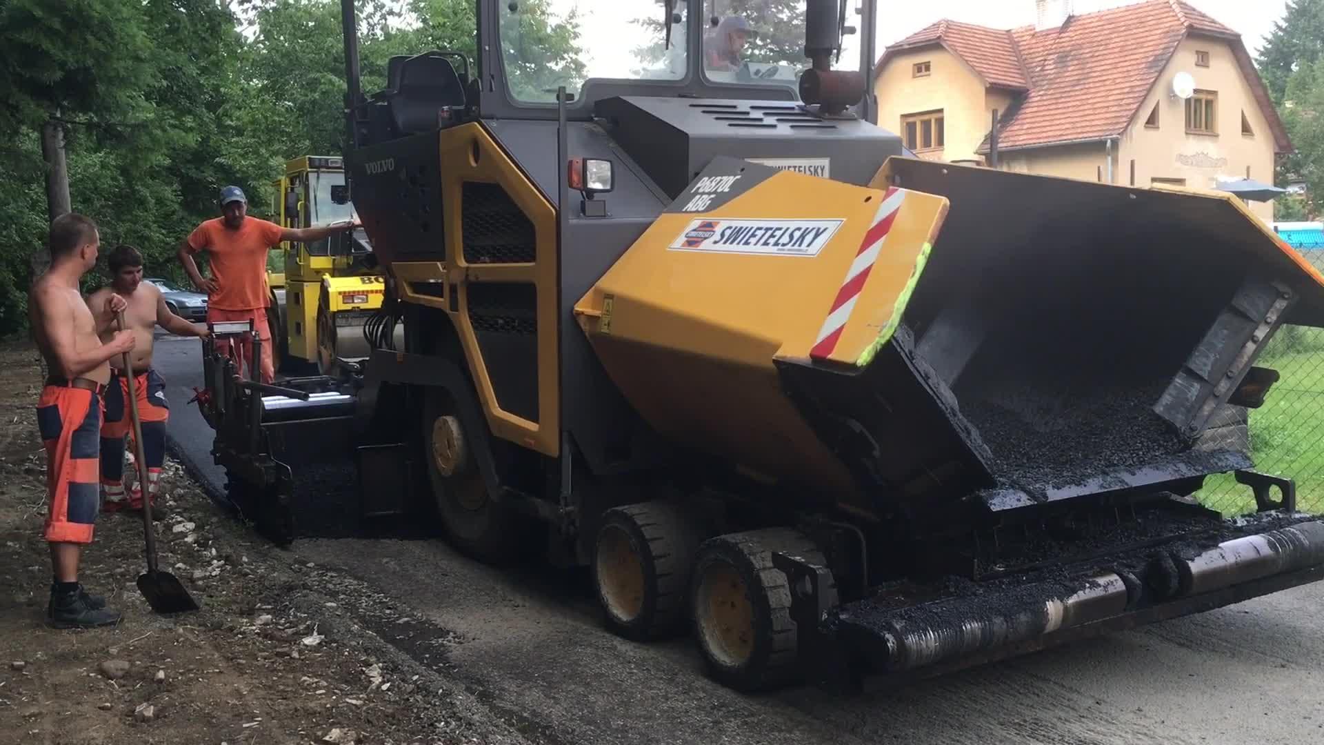 Rekonstrukce cest v Ratiboři