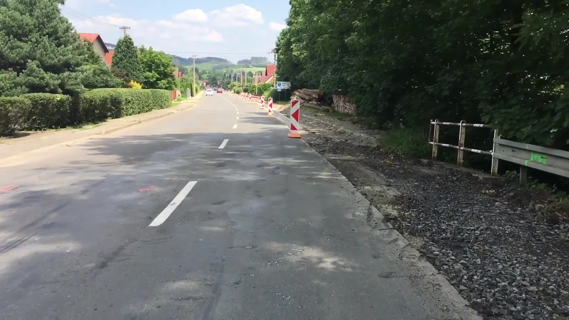 Rekonstrukce hlavní cesty v Ratiboři