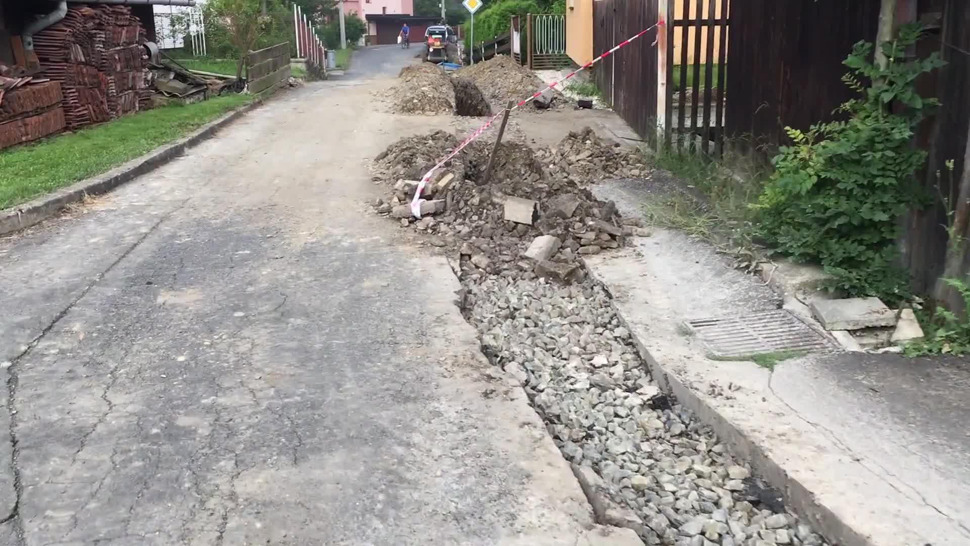 Oprava místních komunikací a výstavba chodníků