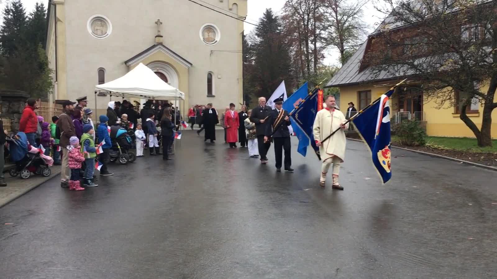 Oslava 100. výročí republiky a 100 let Českobratrské církve evangelické