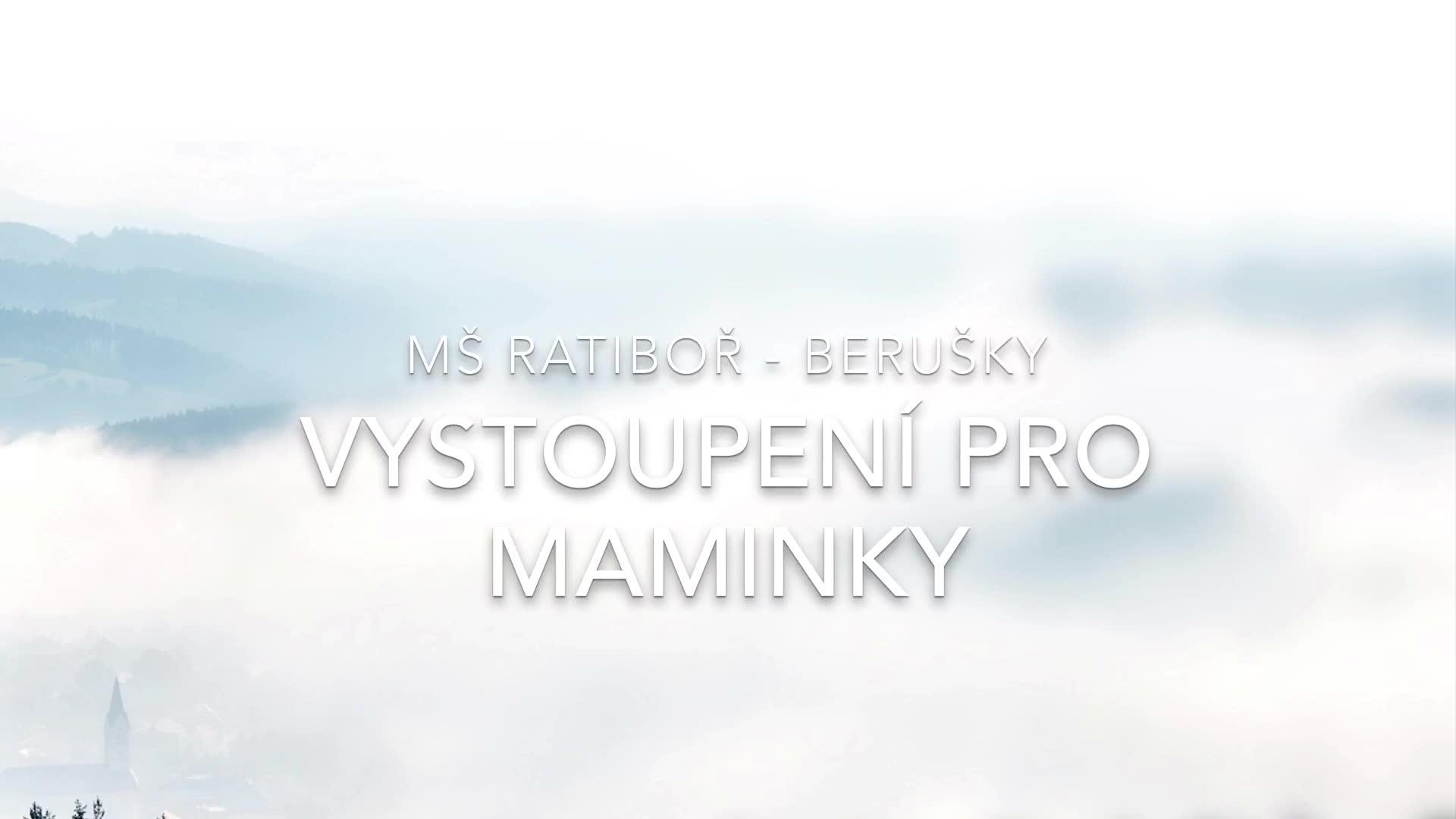 Berušky - Den Matek